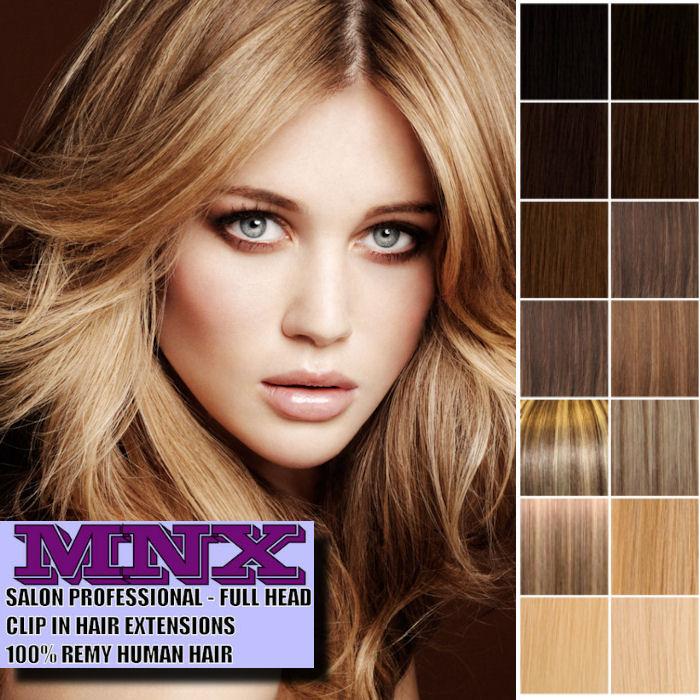 Cheap Human Hair Extensions Full Head 114