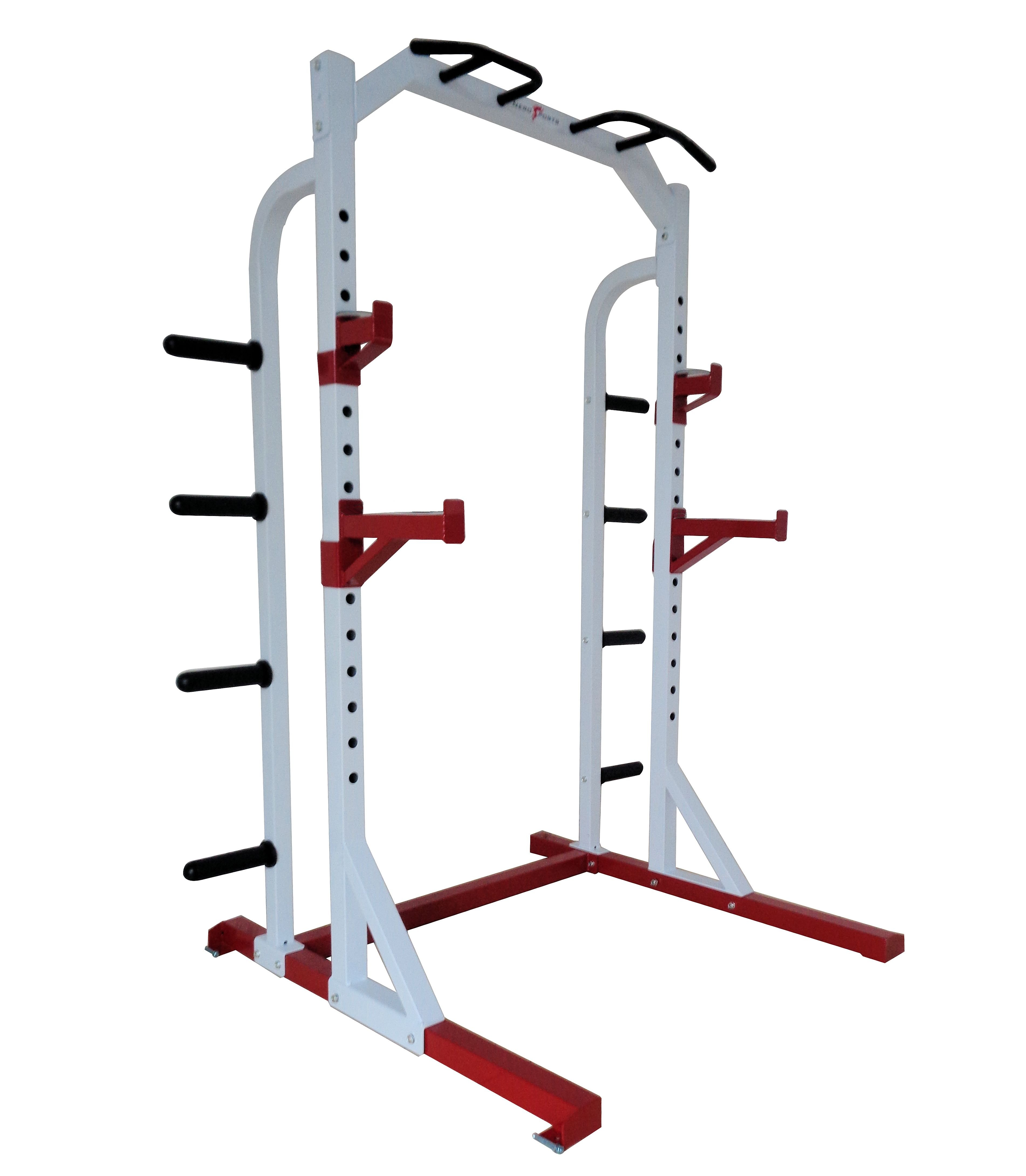 Nero Olympic Power Rack Squat Stand Weight Cage Multi Gym Pull Up Bar Heavy Duty Ebay