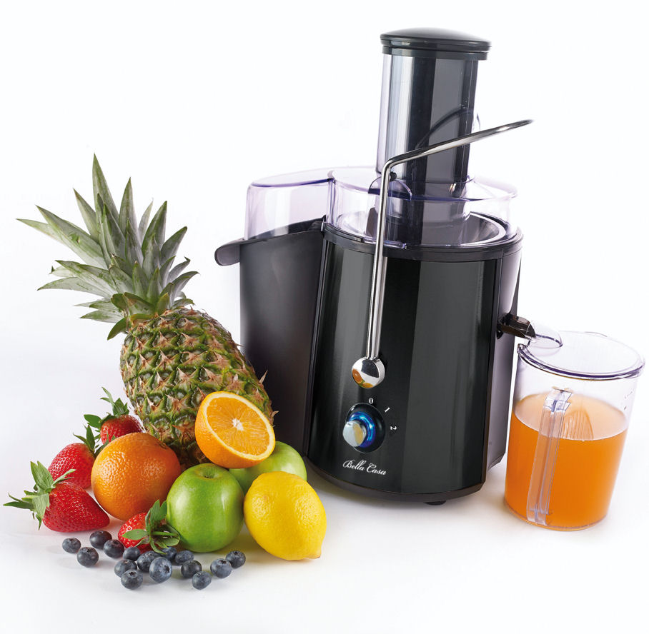Black power fruit juicer extractor whole citrus orange for Alpine cuisine power juicer