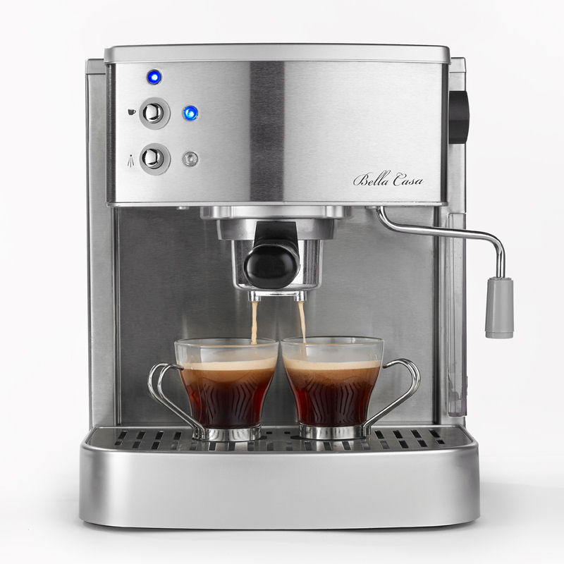 Bella Coffee Maker Filter Size : Bella Casa Stainless Steel 2 Cup Espresso Cappuccino Coffee Maker Machine eBay